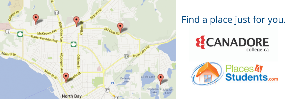 Canadore students, find a place just for you.